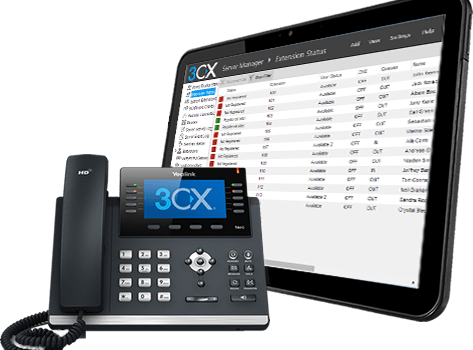 Business VOIP Internet Telephone Systems - Phone and Console